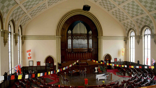 Winnipeg Symphony Orchestra Play in Knox United Church