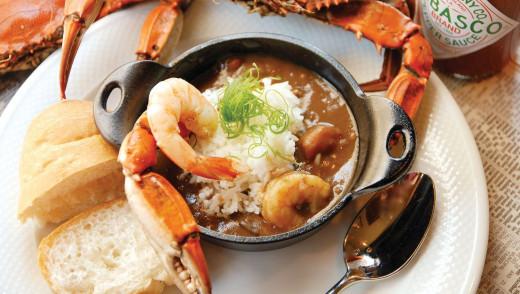 Recipe - Louisiana seafood gumbo