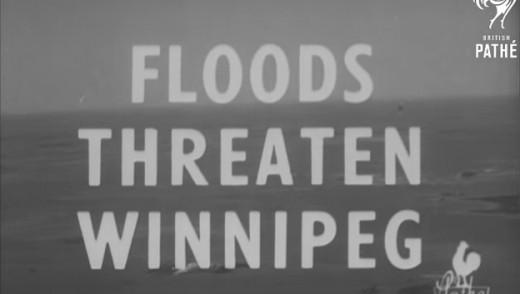 VIDEO - Winnipeg Flood Circa 1950