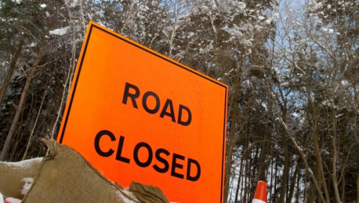 A Part of Empress Street is Closed