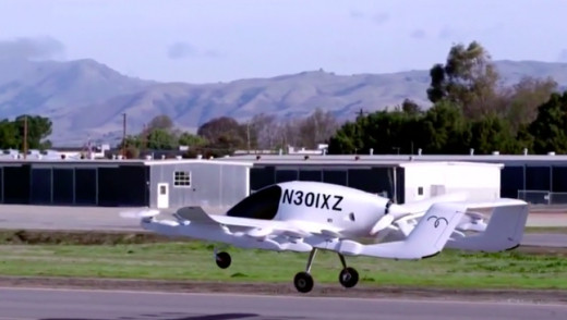 VIDEO - A Company Unveils Pilotless Flying Car