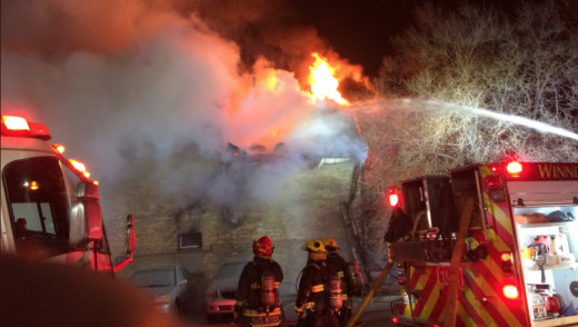 Crews Battle Early Morning Fire on Balmoral