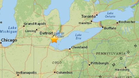 Earthquake Rattles Southern Ontario