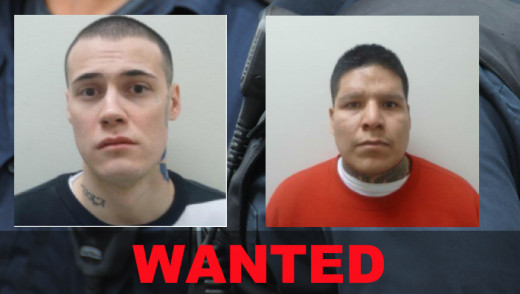 Wanted by Police in Winnipeg