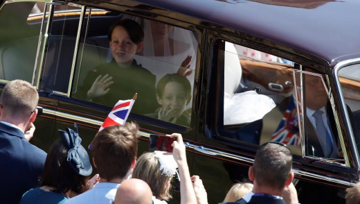 Mulroney Twins Capture Hearts at Royal Wedding