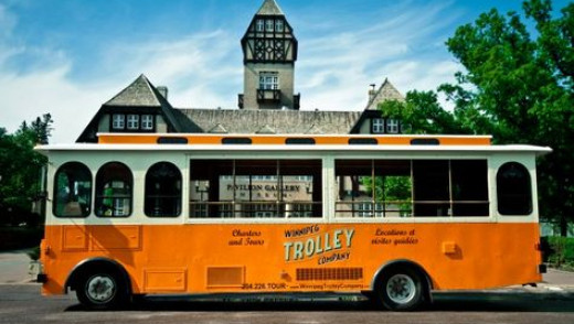 The Domo Trolley Connecting Assiniboine Park and Zoo with The Forks