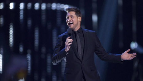 Michael Buble Gets a Star