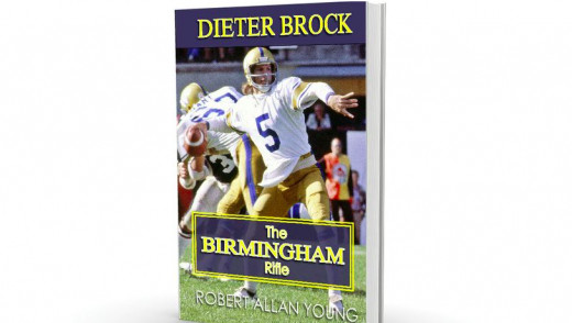"Dieter Brock Says -  ""I was a Winnipeg Blue Bomber Quarterback"""