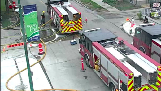 House Fires Shuts Down Arlington
