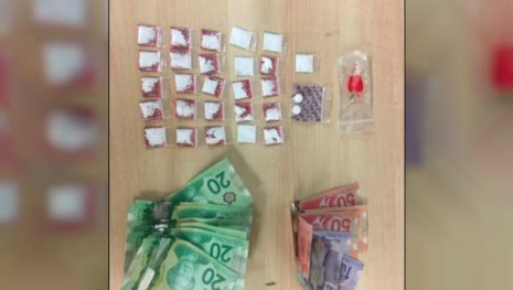 RCMP Lasso Man With Drugs