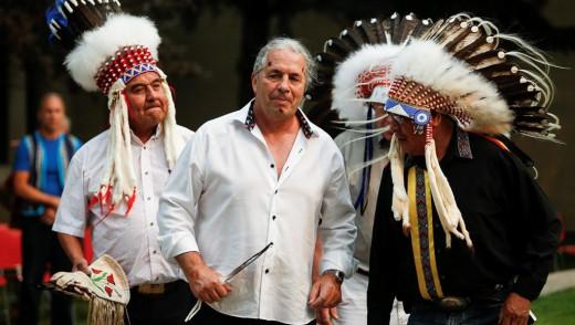 "Brett ""The Hitman"" Hart Given Blackfoot Name"