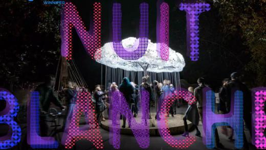Winnipeg Turns into Playground During Nuit Blanche
