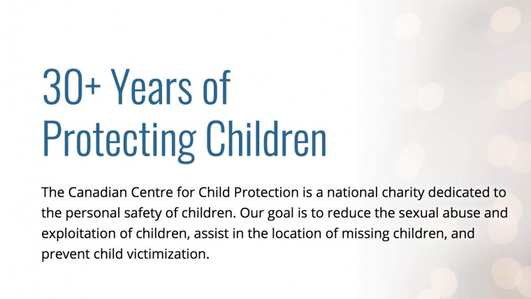 Canadian Centre for Child Protection Gets $390,000