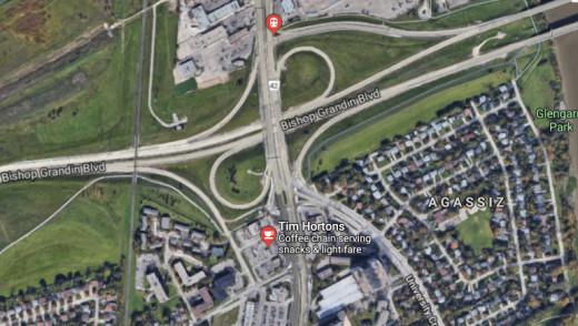 Drunk Driver Causes Crash at Pembina & Bishop Grandin