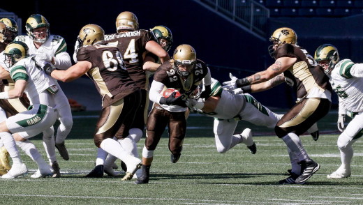 Eight Bisons selected for 2018 Canada West Football All-Star Team