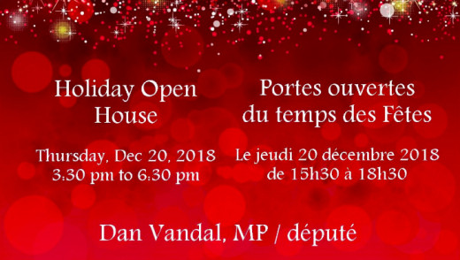 Posties Play Grinch at MP's Christmas Open House