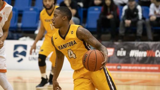 Rashawn Browne Named as 2018-19 Canada West Men's Basketball Third Team All-Star