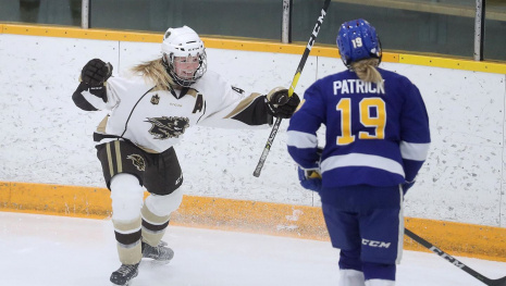 Bison Women's Hockey Begin Championship