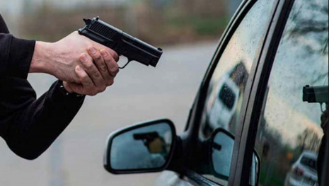 17 Year-Old Youth Points Gun at Victims