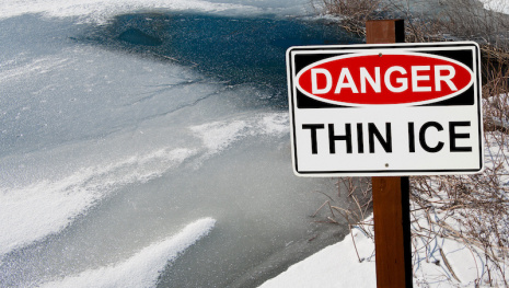 Danger: Thin Ice on Winnipeg Waterways