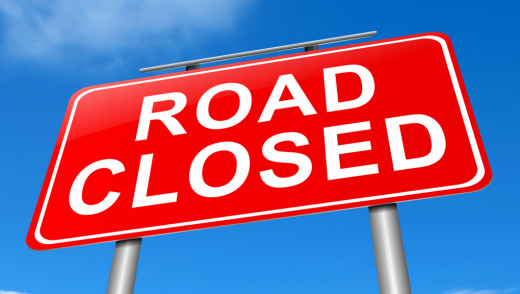 Portage Avenue Westbound Lane Closure May 12