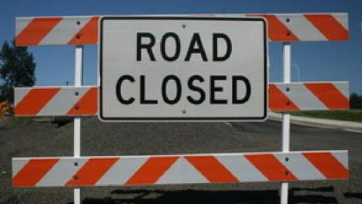 Louise Bridge Closed for Weekend
