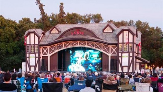 Movies in the Park at Lyric Theatre
