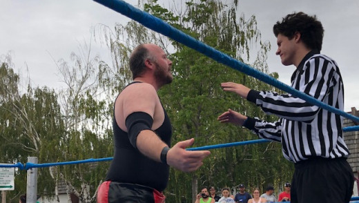 Tag Team Challenge Becomes Street Festival Scrap In Arborg