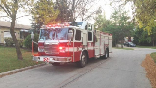 Firefighter Injured in Early Morning Blaze