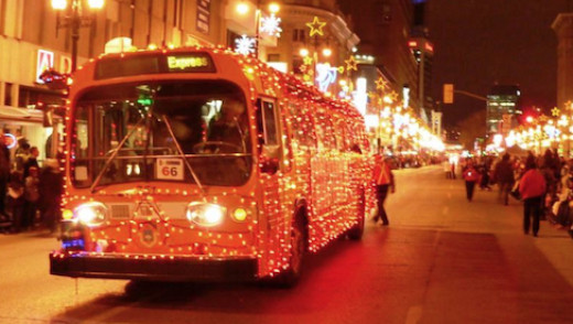 Santa Bus Hits the Road December 1