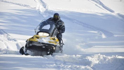 Snowmobile Collisions Claim Two Lives Over the Weekend