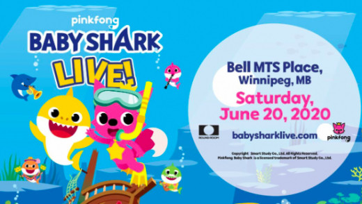 Baby Shark is Coming to Winnipeg