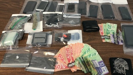Eight Charged with Drug Trafficking