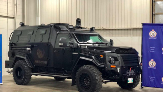 Armoured Rescue Vehicle for Brandon Police
