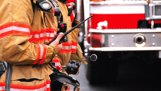Early Morning Fire on Pritchard Avenue