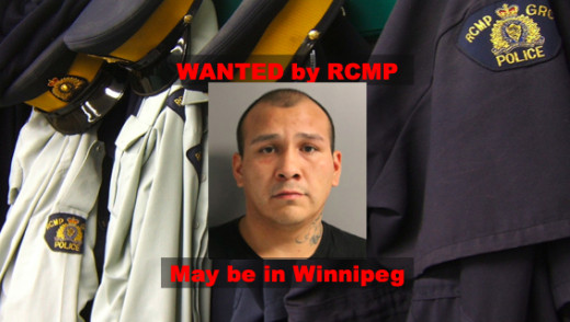 Wanted Man Believed To Be In Winnipeg