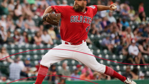 Goldeyes Re-Sign Pitcher of the Year