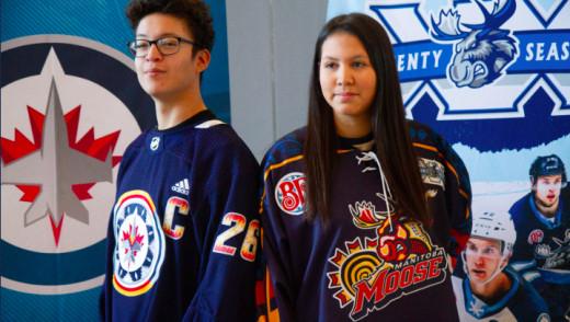 Winnipeg Jets & Moose Reveil WASAC - FDY Jersey