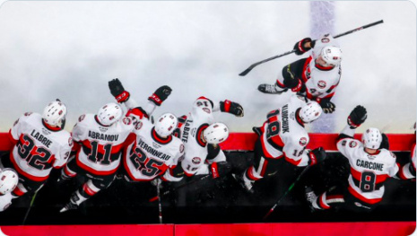 Senators Take 2 Points in Manitoba