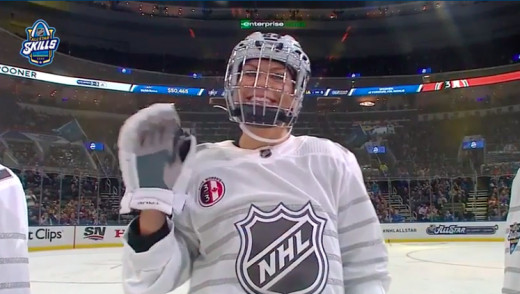 Canadian Women Beat USA at NHL All-Star Weekend (Video)