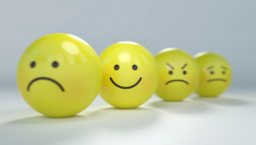 HAPPINESS MAY BE A COIN FLIP AWAY