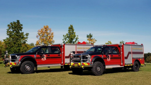 NEW EQUIPMENT USED ON GRASS FIRE