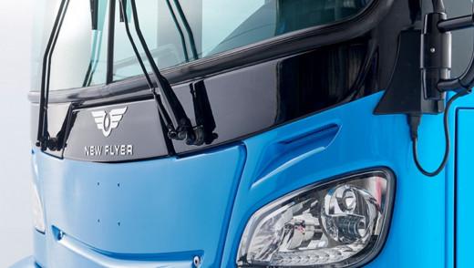 New Buses At Winnipeg Transit