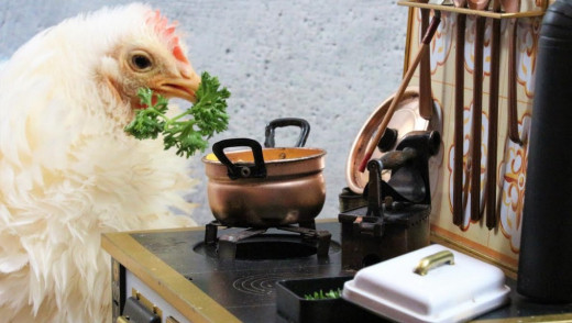 Vegan Fried Chicken Week?