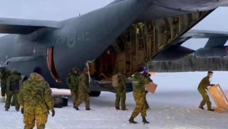 Military Heading North Again