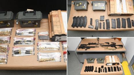 Guns & Ammo Bust