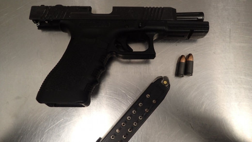 Brandon Police Seize Glock