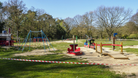 COVID Closes Playgrounds