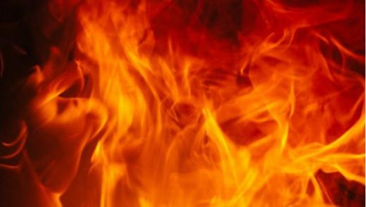 2 Fires, Minutes Apart