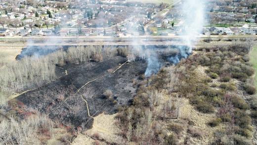 Stubborn Centreport Fire